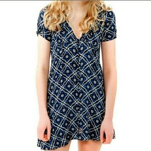 Free People sundress Melody in Onyx Size 10 blue